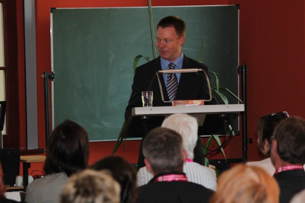 Minister des TMBWK Christoph Matschie